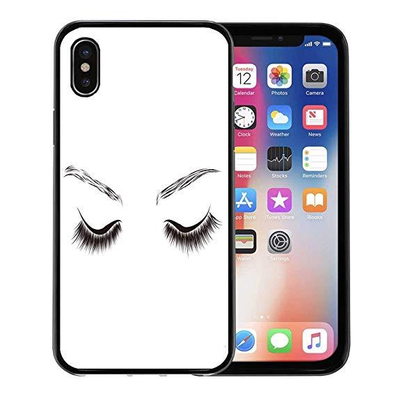 569x569 emvency phone case for apple iphone xs case,eyelash