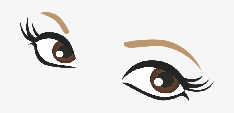 820x399 eyes brown drawing pupil eyelashes lashes