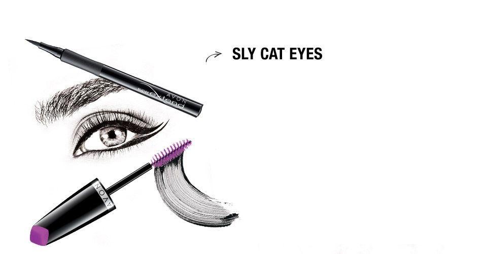 960x501 Sly Cat Eyes Play Up The Eyeliner For A Fierce, Feline Inspired