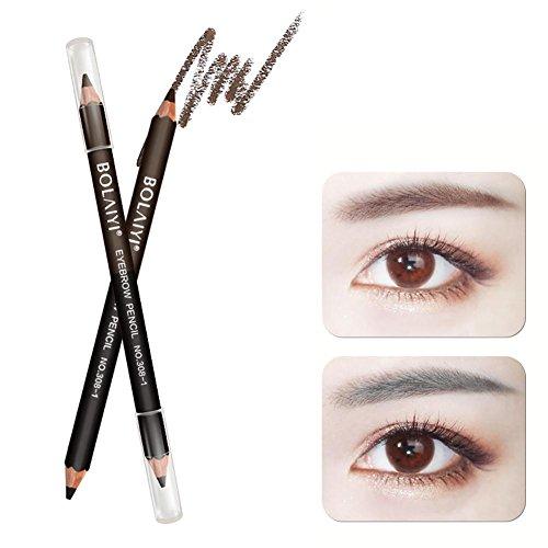 500x500 Double Ended Eyebrow Pencil, Aolvo Waterproof Drawing Eye Brow