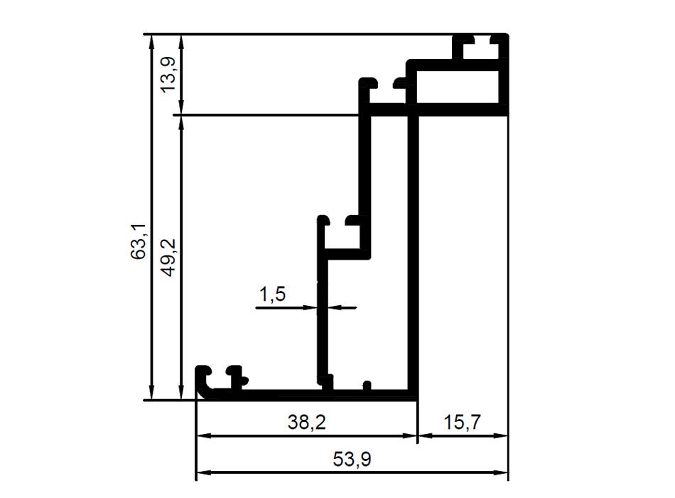 950x700 facade series hks aluminum profile aluminum profile systems