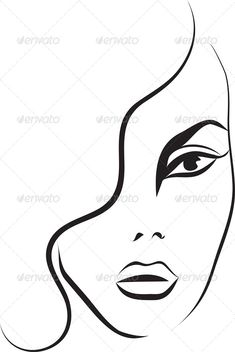 235x352 Desirable Face Illustration Images Drawing Faces, Pencil Art
