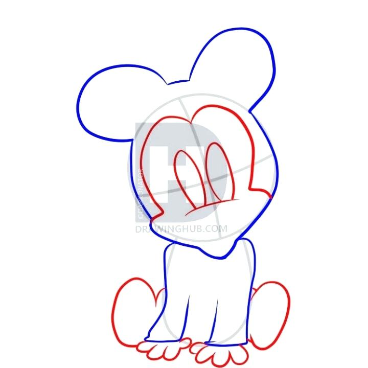 720x720 Draw A Mouse Face