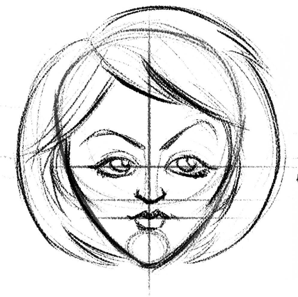 995x993 Face Cartoon Drawing And Learn How To Draw A Cartoon Of Yourself