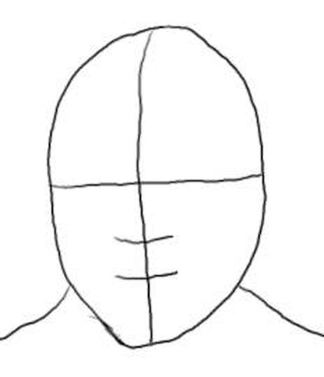 640x744 How To Draw Nelson Mandela's Face