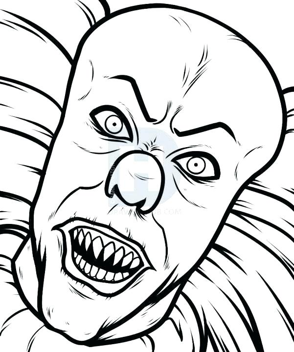 601x720 Easy To Draw Clown Face How To Draw Clown Face Nas