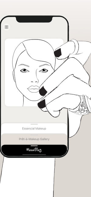 300x649 Makeup On The App Store