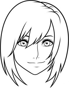236x302 How To Draw Kairi From Kingdom Hearts Easy Step Projects