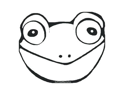 475x367 Frog Face Drawing Face Of Frog In Drawing Easy Frog Face Drawing