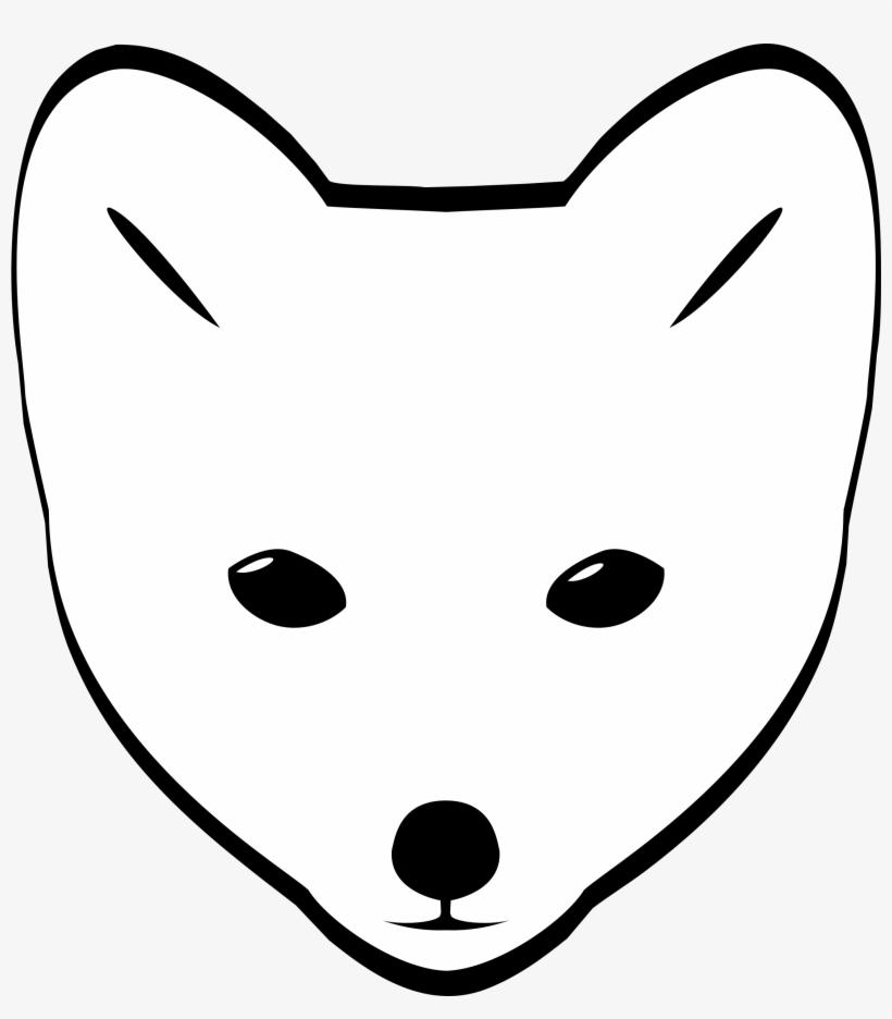 820x936 Clipart Arctic Fox Head