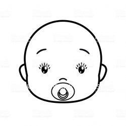 250x250 Baby Face Drawing Vector Cow Smiling Groot Easy Doll Iydunetwork