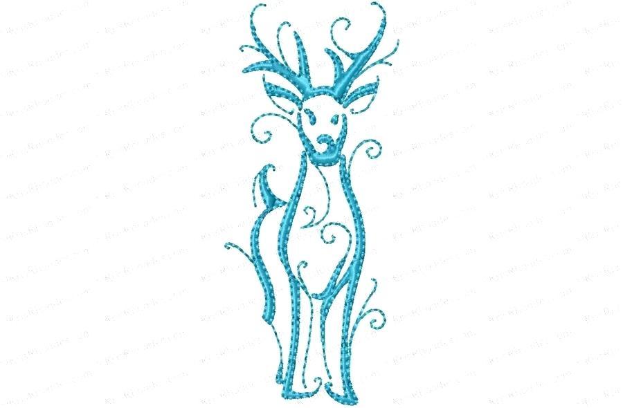 900x590 Reindeer Drawings Vector Illustration Of Reindeer Drawing Simple