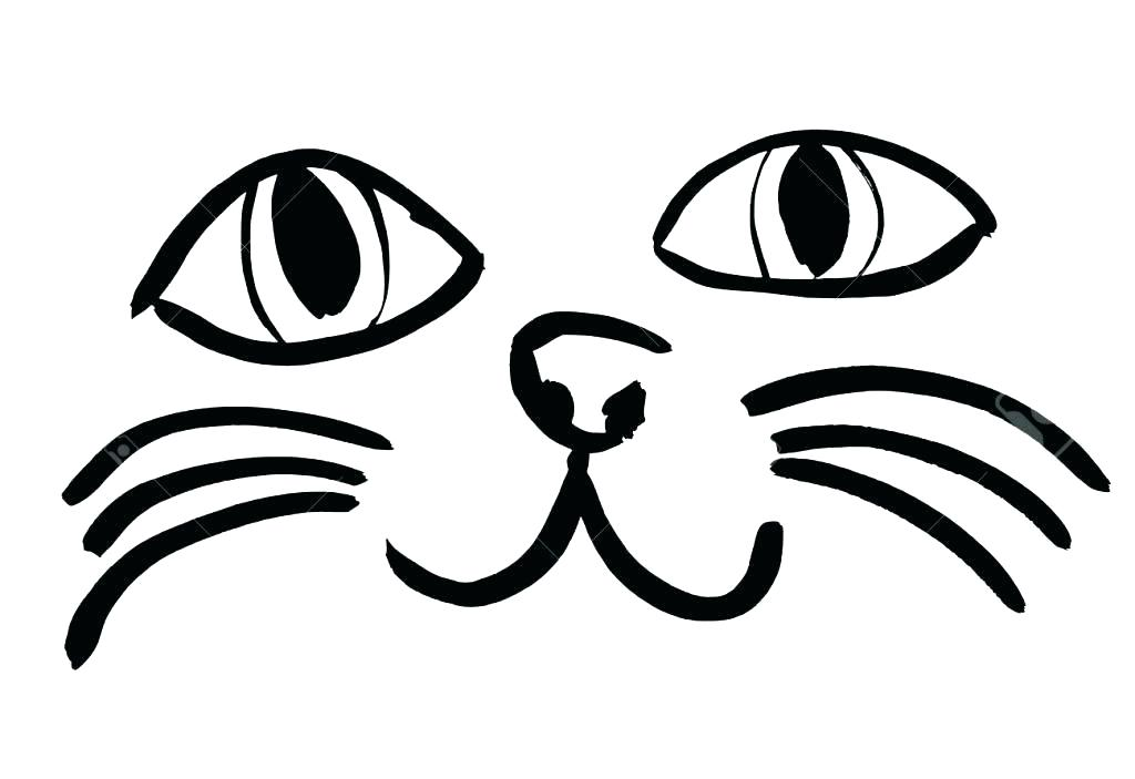 1024x703 cat face drawing angry cat face drawing cat face drawing simple