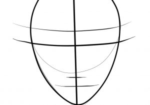 300x210 Face Drawing Template Face Template For Drawing At Getdrawings