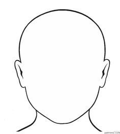 236x264 Face Template Drawing People Empty Face