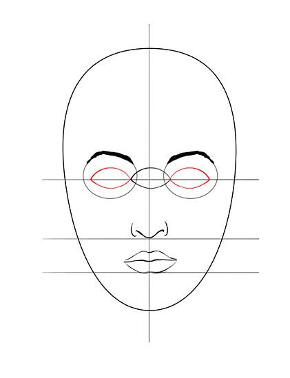 421x549 Draw A Face Face, Tutorials And Drawings