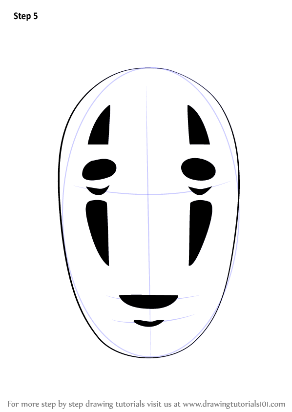 598x844 Learn How To Draw No Face From Spirited Away