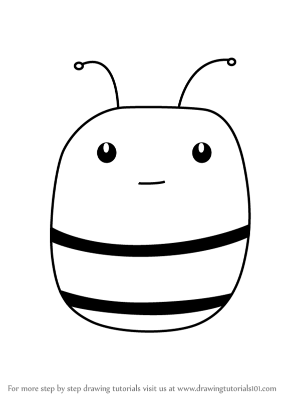 567x800 Learn How To Draw A Honey Bee Face For Kids