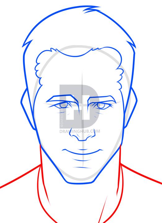 523x720 Ryan Reynolds Drawing Tutorial, Step