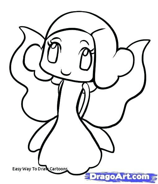 510x594 Easy Draw Monkey Monkey Face Step Easy To Draw Monkey Cartoon