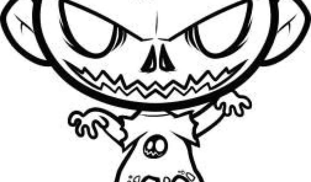 1024x600 Easy Drawing Zombie Face How To Draw A Halloween Zombie Halloween
