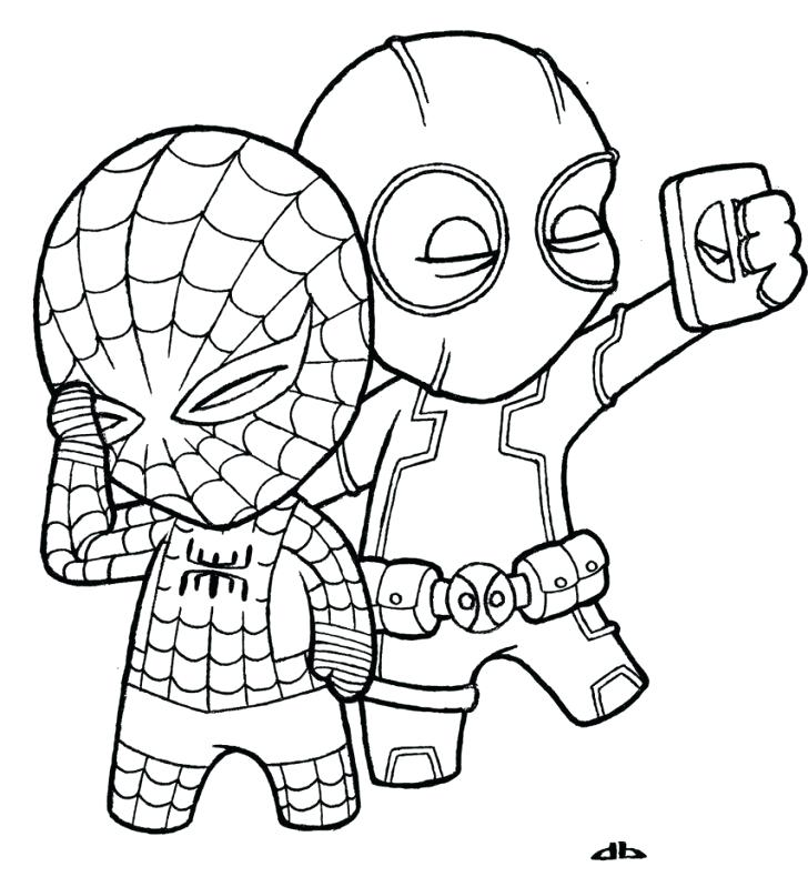 728x799 Easy Drawings Of Spiderman Download