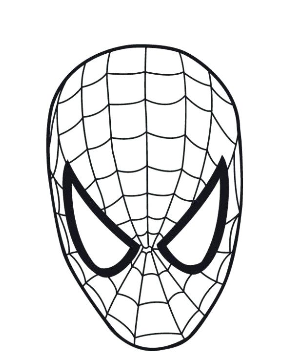 580x741 spiderman face outline face painting spiderman face outline