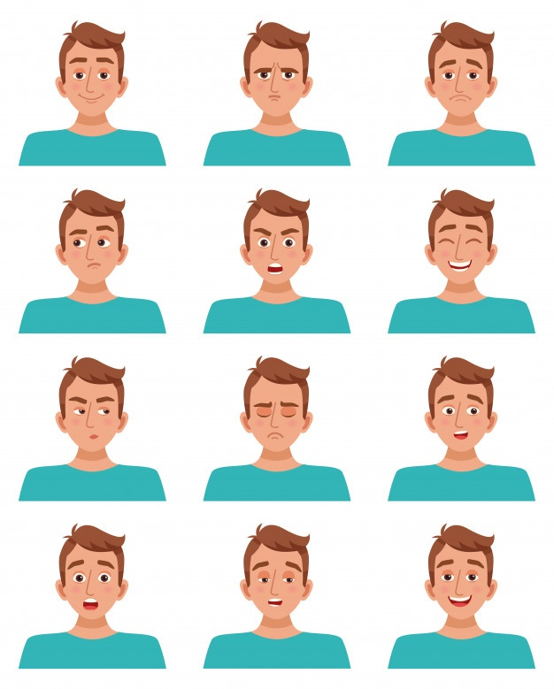 626x779 Expression Vectors, Photos And Free Download