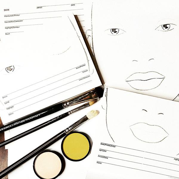600x600 Eye, Lip Or Face Chart Click Beauty Supply