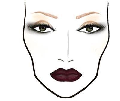 401x337 Face Chart