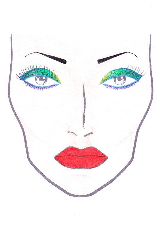 566x800 Face Chart