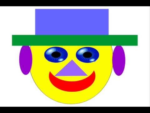 480x360 Learn, How To Make A Clown Face