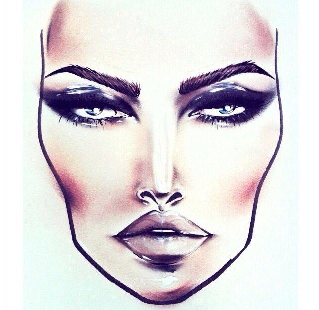 640x622 mac face chart face chart mac face charts, face makeup