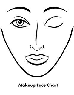 248x320 Buy Makeup Artist Face Chart Workbook Complete Edition Book