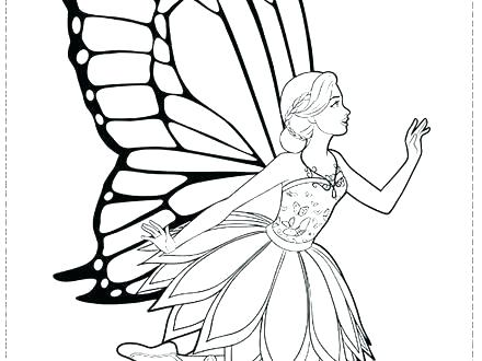 440x330 fairy princess coloring pages fairy free printable fairy princess
