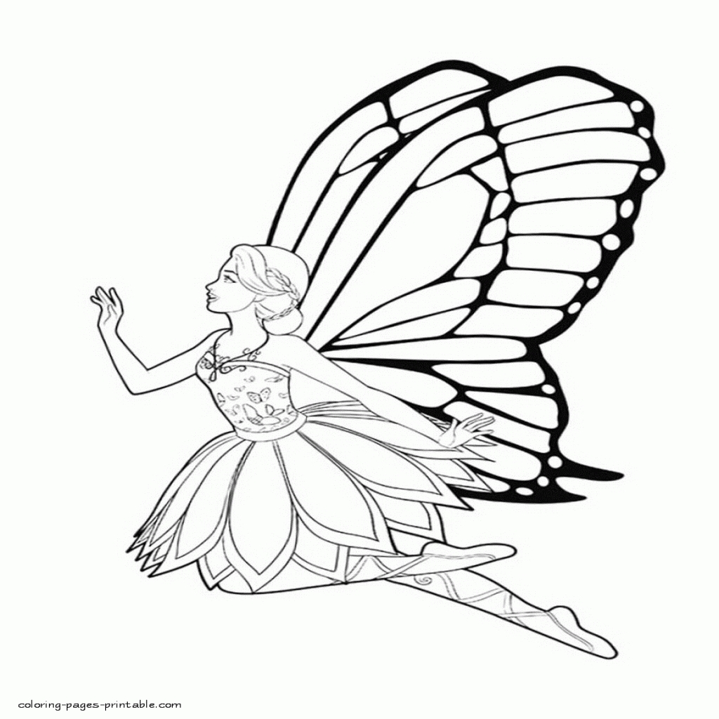 Fairy Princess Drawing | Free download on ClipArtMag