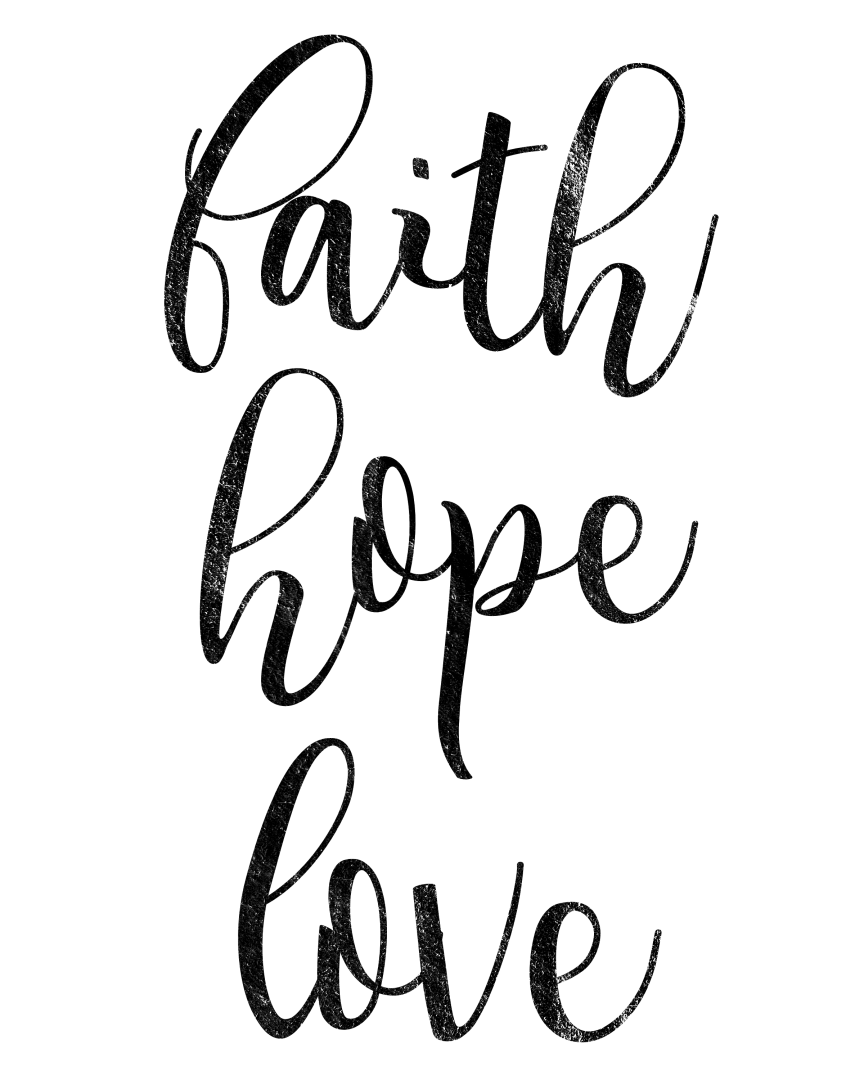 864x1080 faith drawing faith hope love for free download