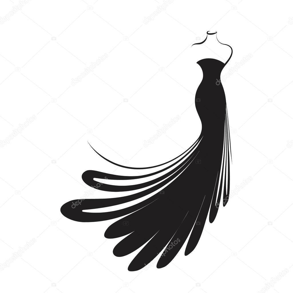 1024x1024 Feather Drawing Dress For Free Download