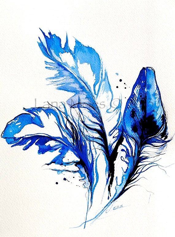 570x769 Image Result For Watercolor Falling Feathers Open House