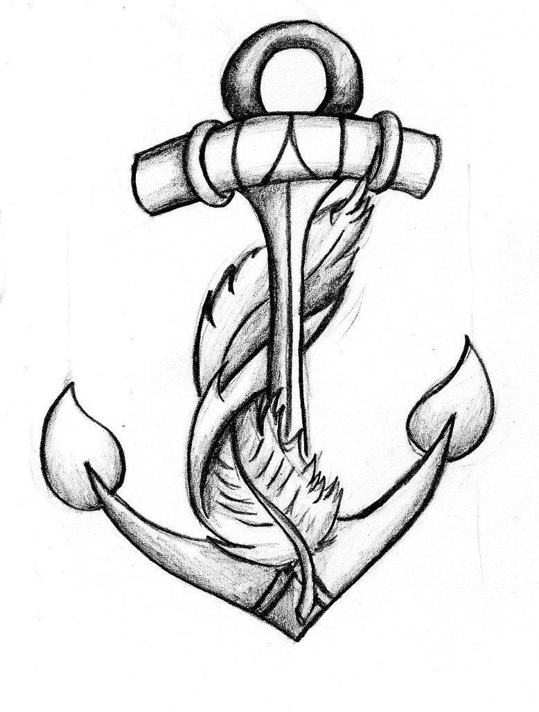 778x1028 Anchor Feather Tattoo Big Possibility Combines My Two Sayings
