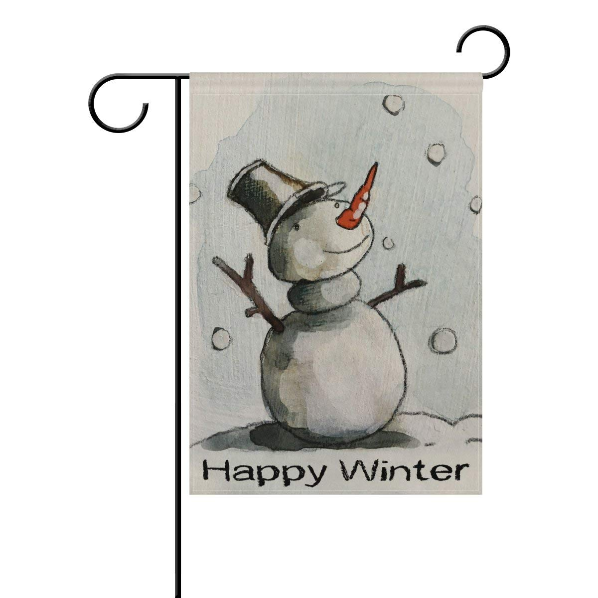 1200x1200 Afagahahs Double Sided Chalk Drawing Happy Winter