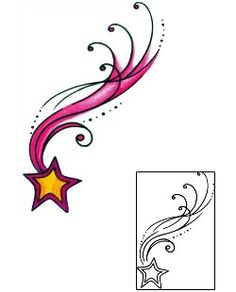 236x292 best shooting star tattoos images ink art, shooting stars