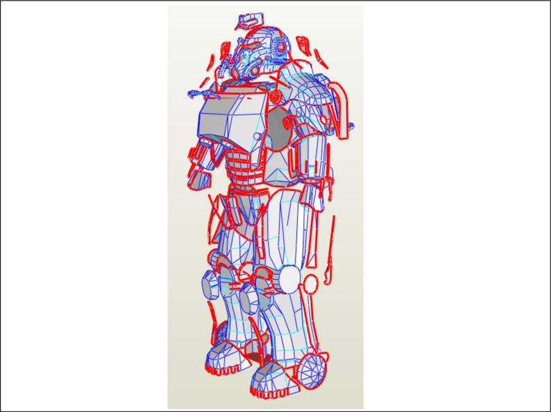 794x595 kid size t power armor eva foam templates to build your own etsy