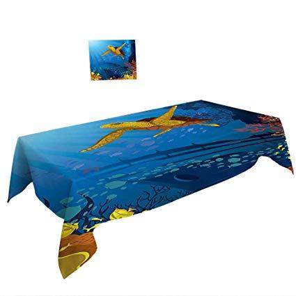 425x425 Warm Family Rectangular Polyester Tablecloth X