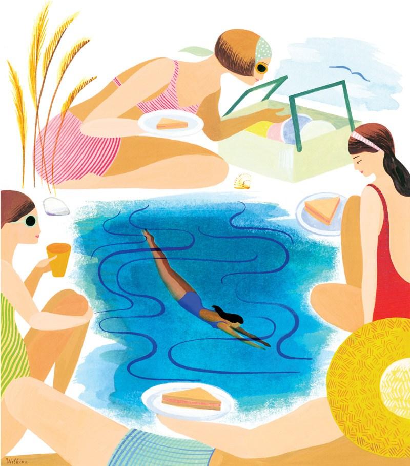 800x908 Sarah Wilkins Family Beach Picnic And Swim