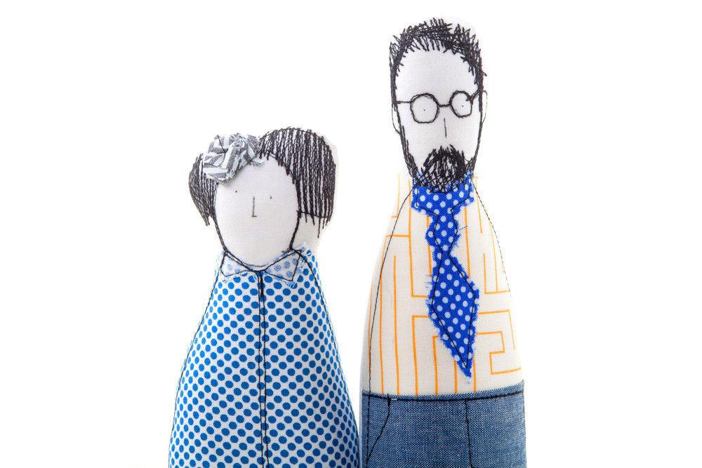 1000x667 family portrait dolls family set personal family parents