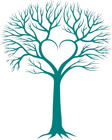 480x598 Family Tree With Heart Clip Art Family Reunion Heart Clip Art