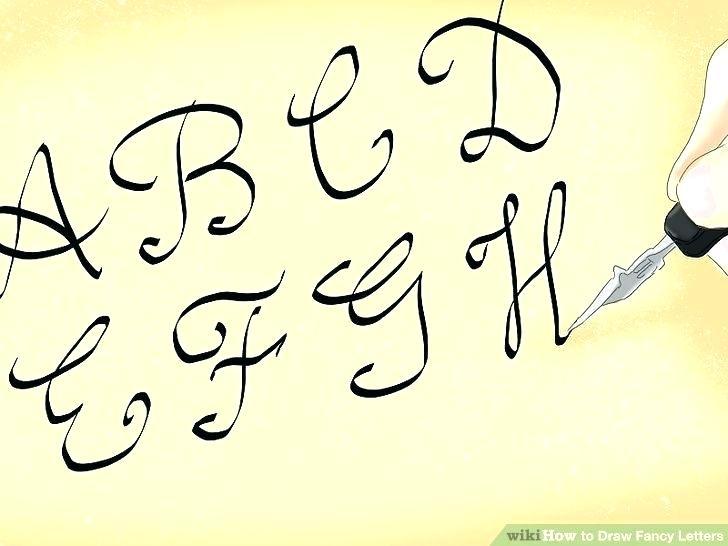 728x546 How To Draw Fancy Cursive Letters Abbietalbot Club
