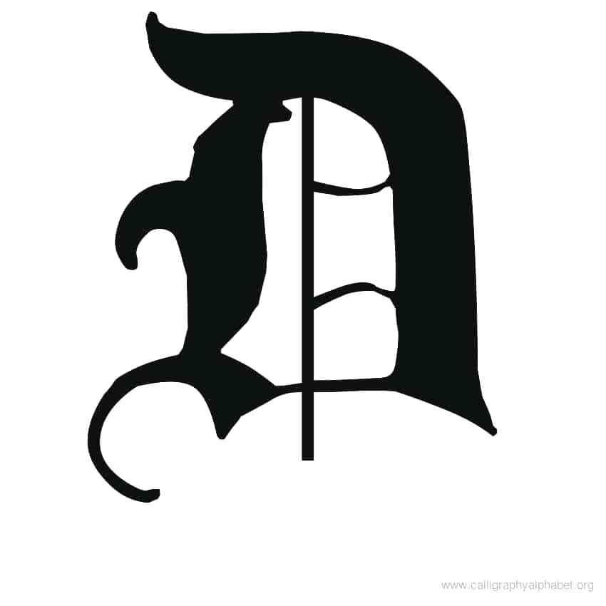 850x850 fancy lowercase d calligraphy alphabet d alphabet d calligraphy