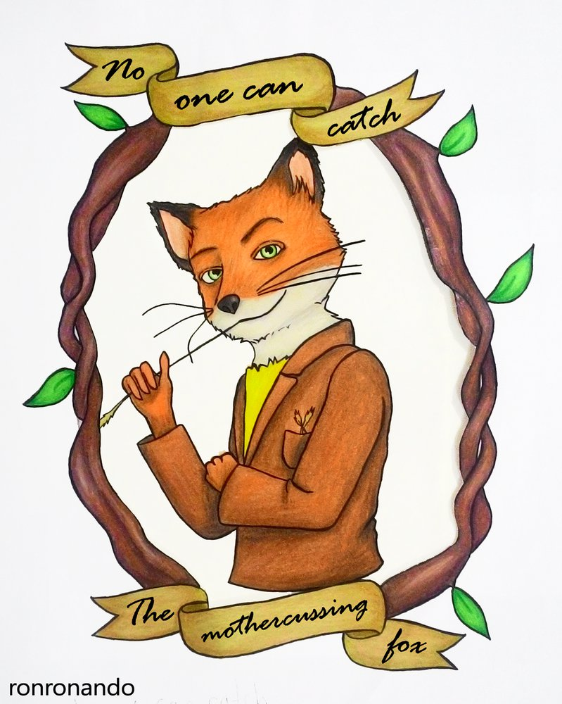 Fantastic Mr Fox Drawing Free Download On Clipartmag